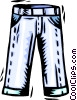 Vector Clip Art graphic  of a trousers