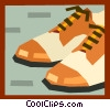 Vector Clip Art picture  of a shoes