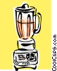 Vector Clipart image  of a blender