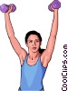 health care exercise II Vector Clip Art picture