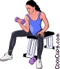 health care exercise Vector Clipart picture