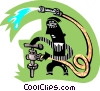 plumber Vector Clip Art picture