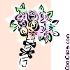 Vector Clip Art picture  of a Bouquet of flowers