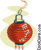 Vector Clip Art picture  of a lantern