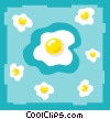 eggs Vector Clipart illustration