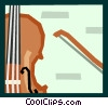 The Arts/Music/Violin Vector Clipart picture
