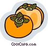 Sliced fruit Vector Clipart image