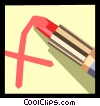Vector Clipart graphic  of a pen