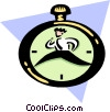 race against time Vector Clip Art picture
