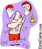 the champ Vector Clipart picture