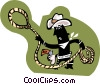 cowboy Vector Clipart illustration