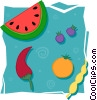 food and dining/fruits Vector Clip Art image