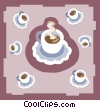 coffee Vector Clip Art graphic