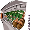 food and dining/winery Vector Clipart picture