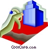 Vector Clip Art picture  of a objective