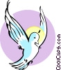 Holy Spirit Vector Clipart illustration