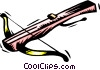 crossbow Vector Clipart graphic