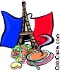 Vector Clip Art image  of a France images