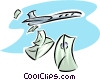 airmail Vector Clip Art graphic
