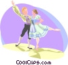 The Arts/Dance Vector Clipart illustration