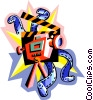 The Arts/Film Vector Clipart picture