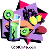 food and dining/exotic drinks Vector Clip Art picture