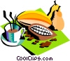 Vector Clip Art graphic  of a food and dining/coffee