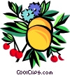 fruit Vector Clipart graphic
