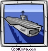 barge Vector Clipart picture
