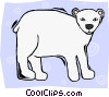 polar bear Vector Clip Art picture