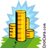 Vector Clip Art graphic  of a business finance