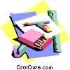 Vector Clip Art graphic  of a education