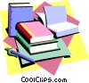 Vector Clipart illustration  of a education