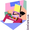 art Vector Clipart image