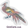 Vector Clip Art graphic  of a pheasant