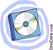 CD's Vector Clipart graphic