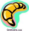 croissant Vector Clipart image