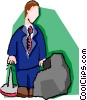 businessman Vector Clip Art picture
