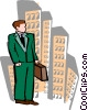 businessman Vector Clipart graphic