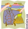 clothing Vector Clipart illustration