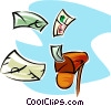 Vector Clip Art graphic  of a mail