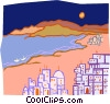 Vector Clipart picture  of a Jerusalem