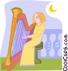 musician Vector Clipart illustration