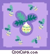 Vector Clip Art image  of a decorations