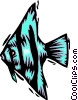 tropical fish Vector Clipart picture