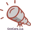 Vector Clipart graphic  of a telescope