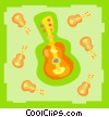 guitars Vector Clipart image
