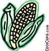 corn Vector Clipart illustration
