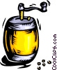 Vector Clip Art graphic  of a pepper/coffee grinder