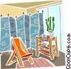 bedroom Vector Clipart picture